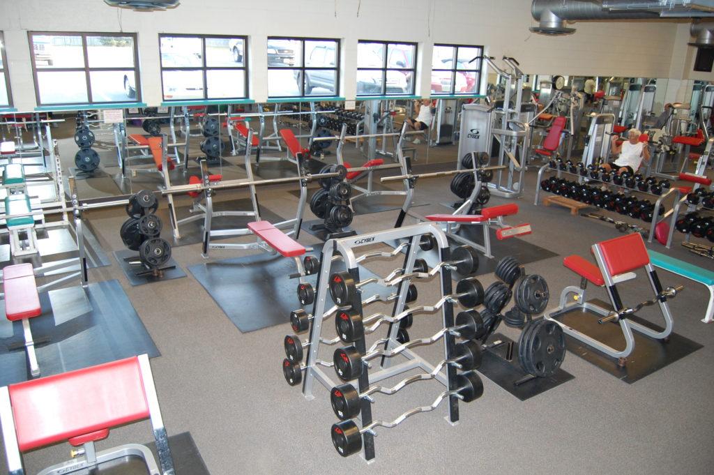Fitness rooms ephrata recreation center