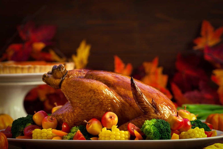 Turkey-on-table